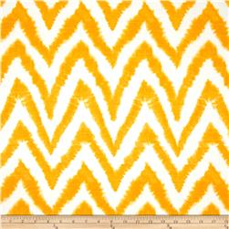Premier Prints Diva Chevron Slub Corn Yellow Fabric
