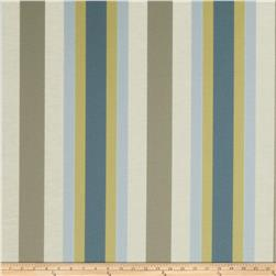 Jaclyn Smith Bank Stripe Blend Indigo