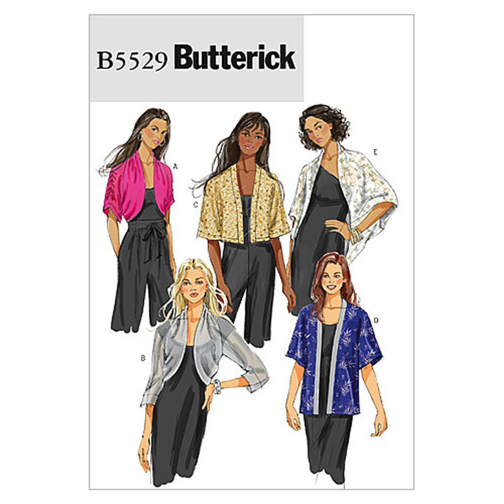 Butterick Misses' Jacket Pattern B5529 Size 0Y0