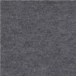 Rayon Blend Jersey Knit Dark Heather Grey