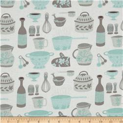 Clementine Kiss The Cook Ivory Fabric