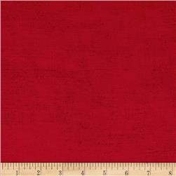 Moda Rustic Weave Christmas Red