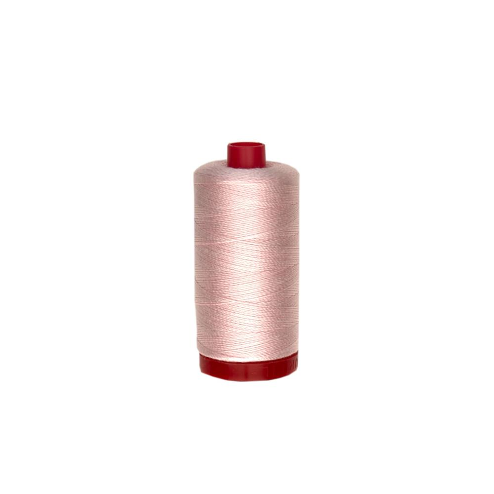 Aurifil 12wt Embellishment and Sashiko Dreams Thread Pale Pink