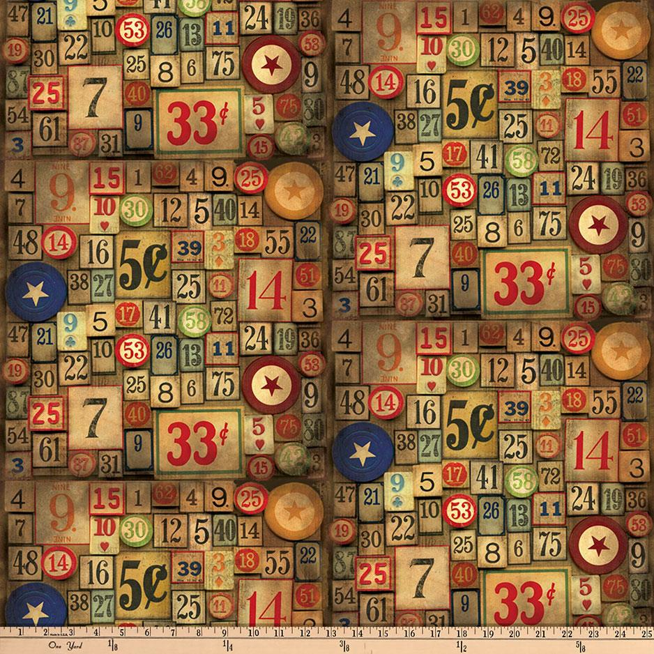 Tim Holtz Eclectic Elements Game Pieces Nuetral