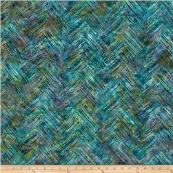 Bali Batiks Handpaints Chevron Brush Wade