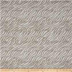 Stretch Cotton Poly Denim Zebra Stone/Grey