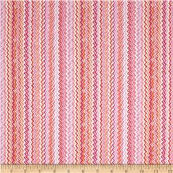 Kanvas Zippy Stripe Pink/Orange