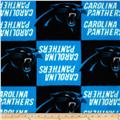 NFL Fleece Carolina Panthers Black/Turquoise