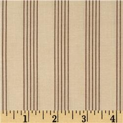 Moda Country Orchard Rail Fence Cream/Earth