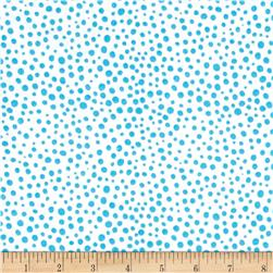 Scattered Dot Aqua