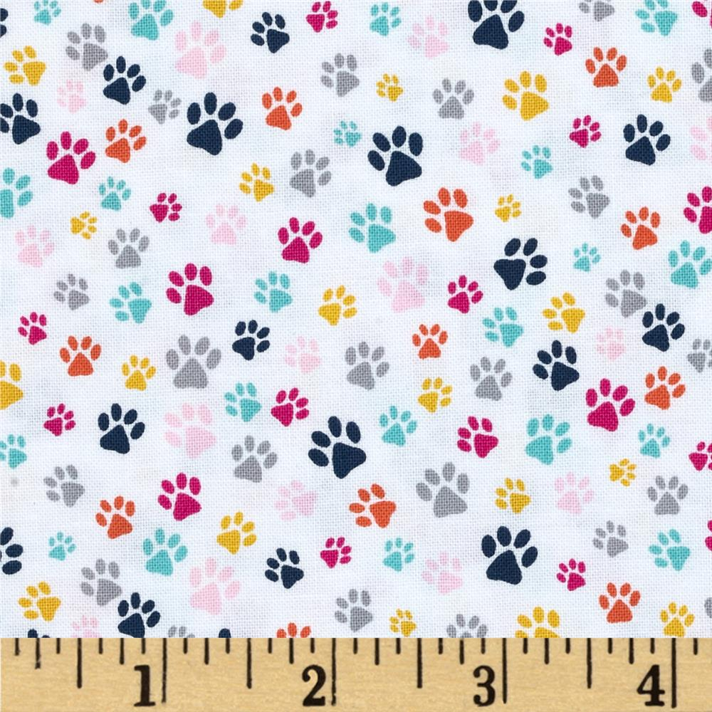 Dear Stella The Cat's Meow Paw Prints Multi