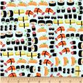 Timeless Treasures Sushi Packed Sushi Sushi