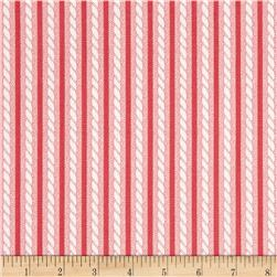 Verna Mosquera Love & Friendship Twisted Stripe Blush