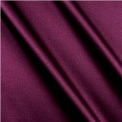 Shannon Silky Satin Charmeuse Solid Raisin