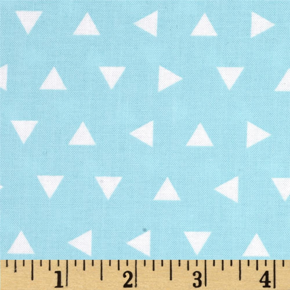 Kaufman Remix Triangles Scatter Aqua