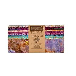 "Timeless Treasures Tonga Batik Zanzibar 10"" Square Packs"