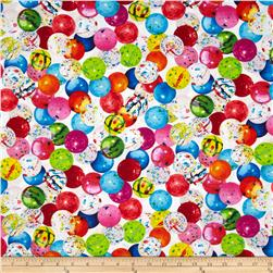 Kanvas Sweet Tooth II Jawbreakers White Fabric