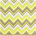 Bright Now Chevron & On Yellow