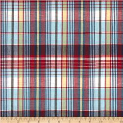 Madras Plaid Red/Blue/Green