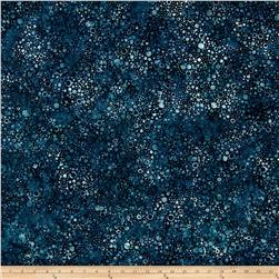 Wilmington Batiks Splash Dots Navy