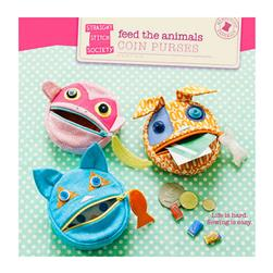Straight Stitch Society Feed the Animals Coin Purse