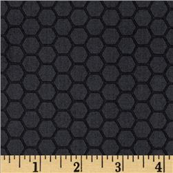 The Color Collection Honeycomb Dark Grey