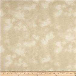 108'' Wide Mottled Flannel Cream