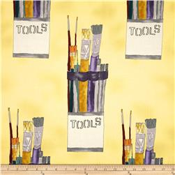 Every Living Thing Artist's Tools Yellow