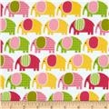 Urban Zoologie Flannel Elephants Sweet