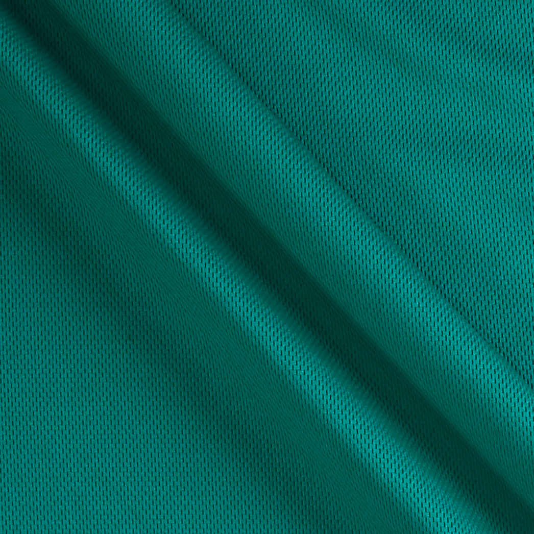 Athletic Mesh Knit Teal Fabric 0319340