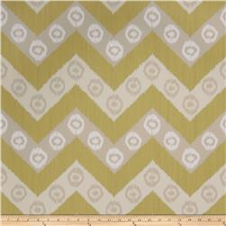 Fabricut 50034w Chevron Wallpaper Chartreuse 01 (Double Roll)