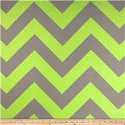 RCA Chevron Sheers Lime/Grey