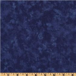 Moda Marble 108'' Quilt Backing Windsor Blue Fabric