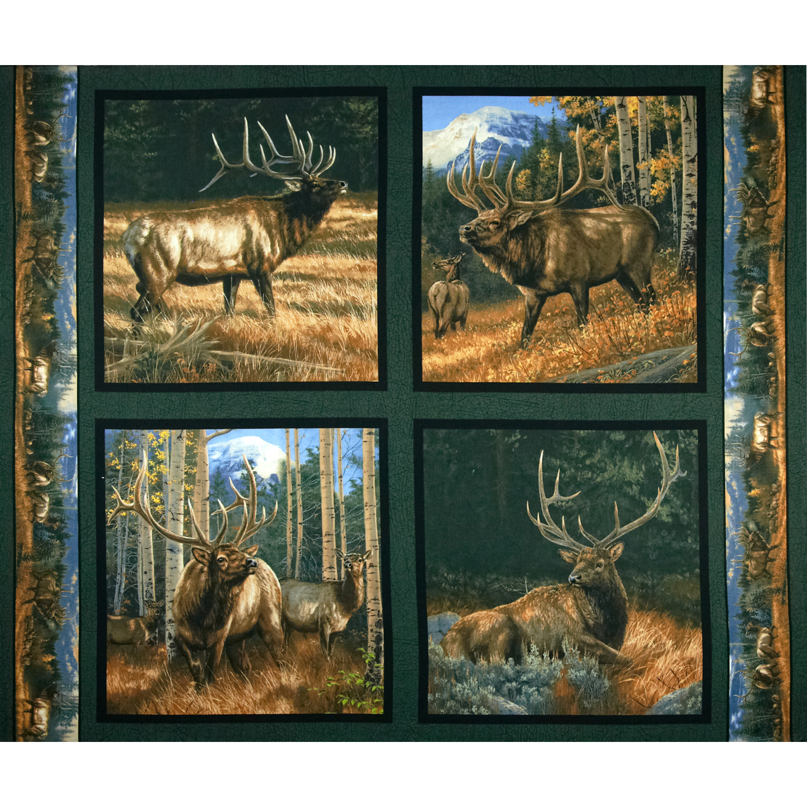 Wild Wings Brighton Passage Pillow Panel Multi Fabric