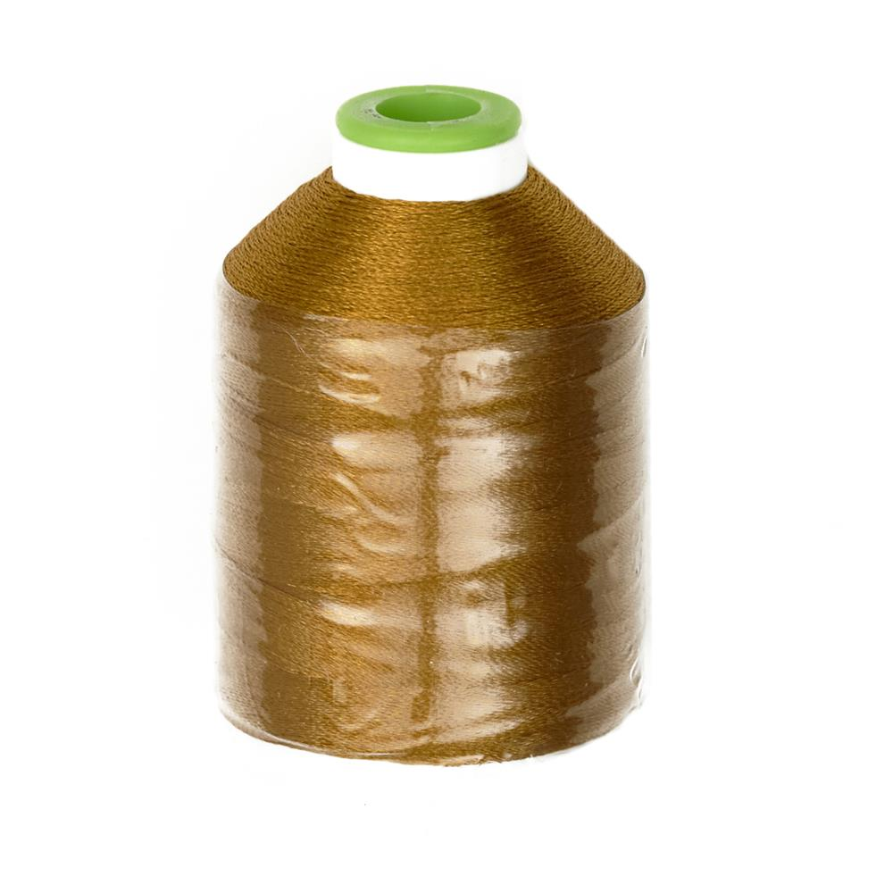Coats & Clark Trilobal Embroidery Thread 1100 Yds. Jungle Gold
