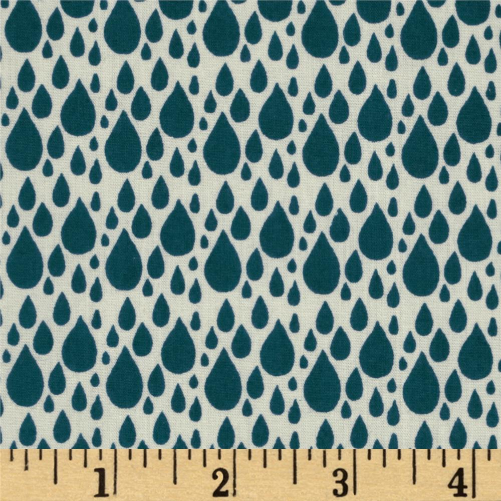 Moda Little Things Organic Raindrop Cream - Night Sky