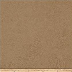 Swavelle/Mill Creek Gunner Pebbled Faux Leather Latte Fabric