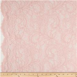 Amelia Stretch Lace Soft Pink