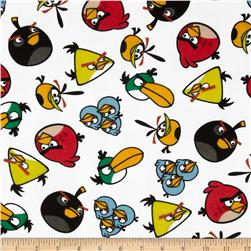 Angry Birds Flannel Birds Toss White