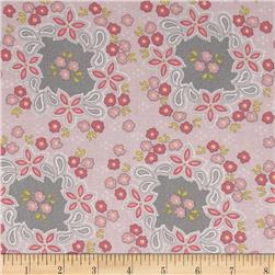 Sweet Harmony Small Floral Lace Pink