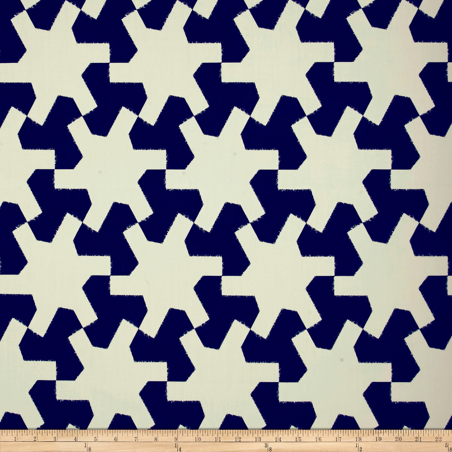Schumacher Indoor/outdoor Setareh Ii Navy Fabric