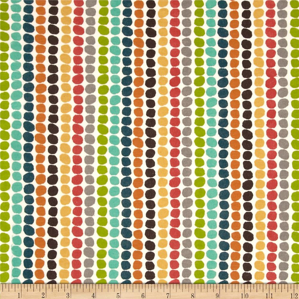 Birch Organic Serengeti Interlock Knit Pebble Stripe Multi