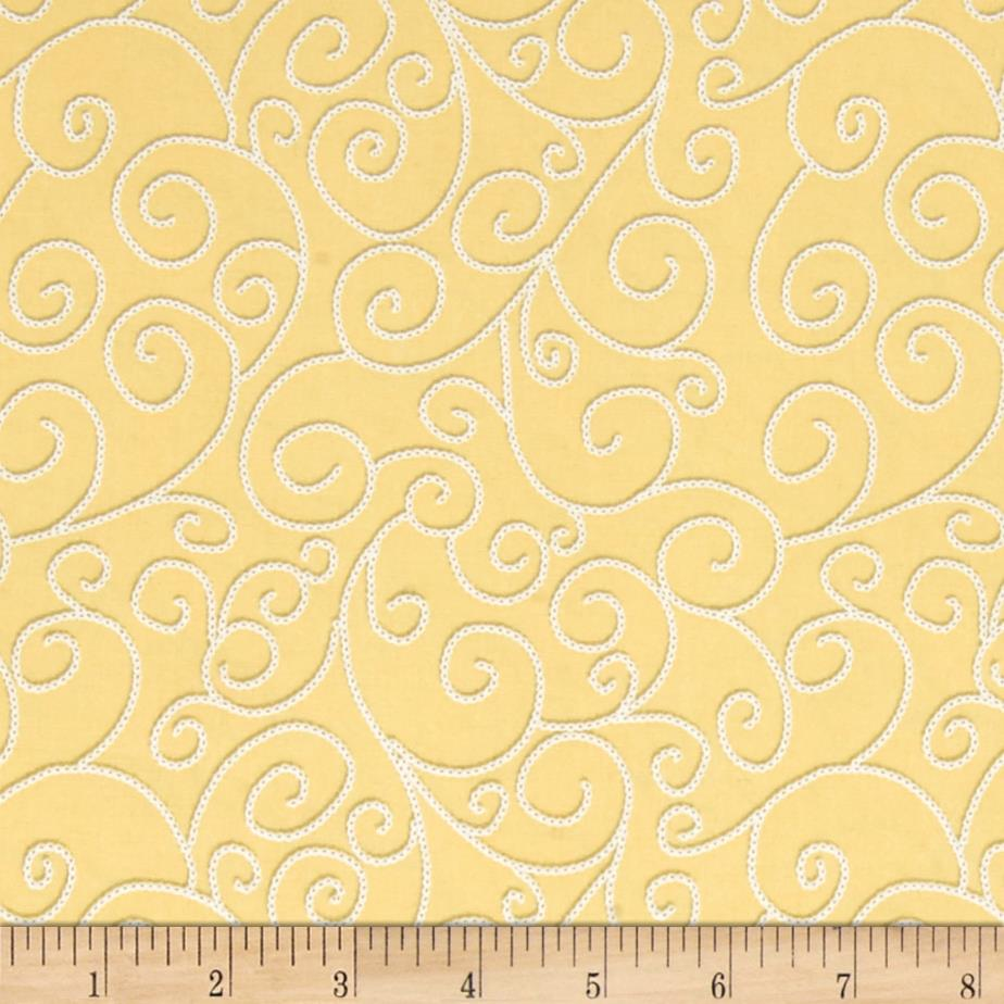 Sew bee it embroidery stitch yellow discount designer for Cheap sewing fabric