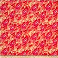 Kanvas Patio Splash Color Strokes Coral/Pastel