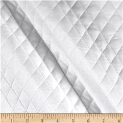 Double Sided Quilted Muslin White