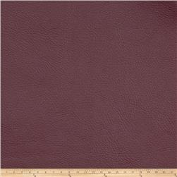 Fabricut Zinc Faux Leather Garnet