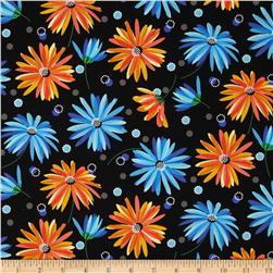 Kimmy's Sonata Dot Floral Black