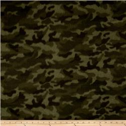 Polar Fleece Camoflauge Green