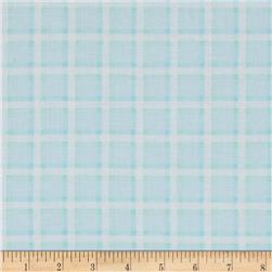Kanvas Bunny Hop Soft Plaid Baby Blue