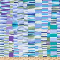 Kaffe Fassett Collective Shirt Stripes Midnight Fabric